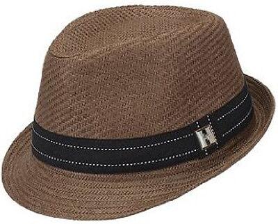 Peter Grimm Fragile Fedora Hat, Brown (Peter Grimm Fedora)