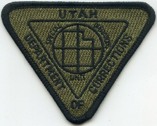 UTAH UT STATE DEPARTMENT OF CORRECTIONS DOC SPECIAL OPS UNIT SWAT police PATCH