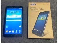 Samsung Galaxy Tab 3 SM-T210 7inch screen 8Gb Black