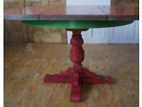Quirky Red/green kitchen table