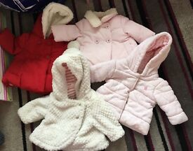 Baby girls coat