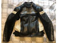 Dainese men's two piece motorcycle suit