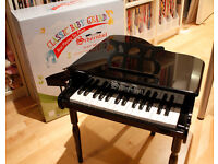 Schoenhut 30 Key Classic Baby Grand Toy Piano Black Collection Only, offers accepted