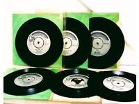 MONSTER HITS GARY GLITTER/GLITTER BAND BUNDLE SINGLES RECORDS JOBLOT 45s.