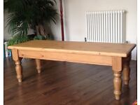 Coffee Table - Solid Pine Wood