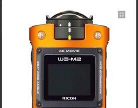 Ricoh WG - M2 Action camera (orange , new)