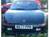 Black Toyota Mr2 rev3. Uk spec. Not turbo or import. Convertible sports car