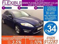2013 FORD MONDEO 2.0 TDCI TITANIUM X GOOD / BAD CREDIT CAR FINANCE AVAILABLE