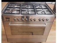 Delonghi Dual Fuel Range Cook 90 CM