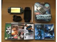 PSP 1001 Handheld Console - Black + Extras