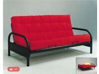 Metal Frame Futon Sofa Bed