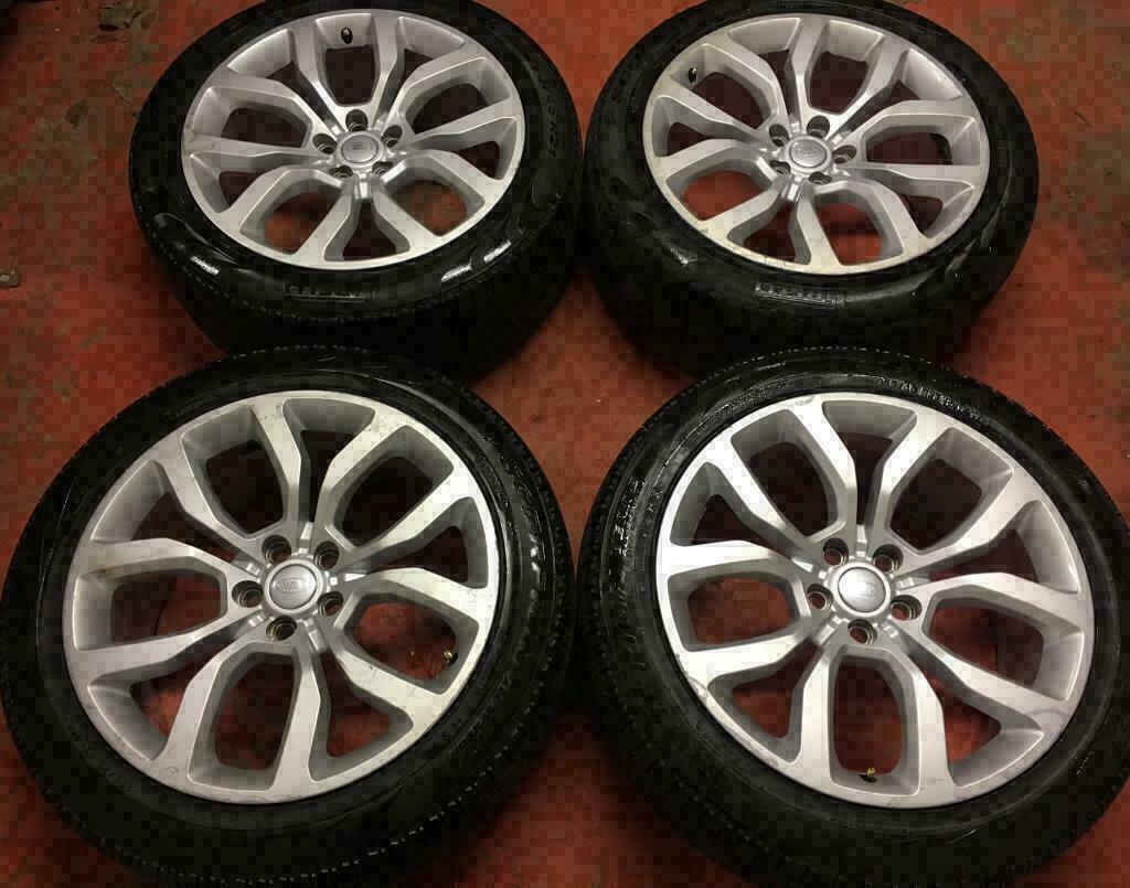 21 Genuine Range Rover Sport Alloy Wheels Alloys Discovery 4 3 Vogue Tyres Land In Ballymena County Antrim Gumtree