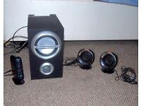 Sony SRS D211 multimedia speaker system