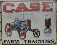 Case - Oliver Tractor Tin Signs - NEW