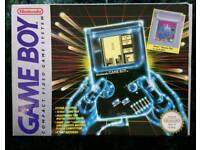 Original Nintendo Gameboy Boxed and complete!