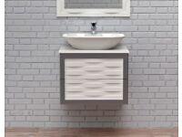 Modern bathroom cabinet, console, Premium