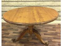 STUNNING SOLID PINE FARMHOUSE TABLE NEEDS TLC CAN DELIVER