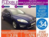 2013 FORD MONDEO 2.0 TDCI TITANIUM X GOOD / BAD CREDIT CAR FINANCE FROM 39 P/WK