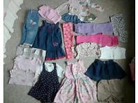 Girls Luxury clothes bundle 2-3 yrs