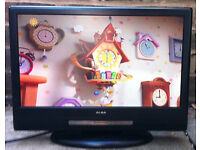 16inch HD Flat LCD TV JVC Alba LCDW16HDF Freeview Digital HDMI LCD Television