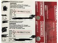 Two tickets for Eminem Revival Tour 14th July @ Twickenham