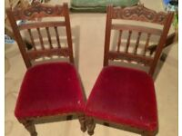 Two Dining Sale Chairs