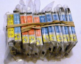 Ten non oem ink cartridges for Epson P50, R265, R285