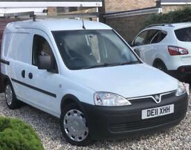Vauxhall combo crew cab 2011 MOT due June 2019