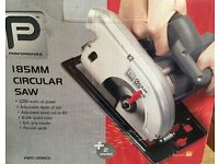 Circular Saw 185mm. New, never used.