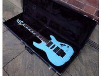 1992 Ibanez FGM100 SB Sky Blue (Frank Gambale Signature)