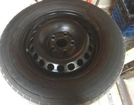 T5 Black steels, good tyres