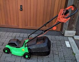 Lawn mower, strimmer, extension cable