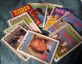 cricket magazines - 10 - 1984 -1989