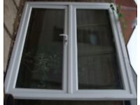 UPVC French door white double glazed with lock and keys