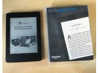 Amazon Kindle Paperwhite WATER DAMAGED SPARES OR REPAIR