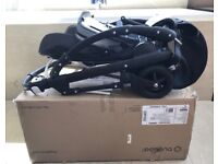 Bugaboo bee 5 chassis and seat in black