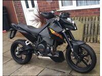 *REDUCED* 2010 KTM Duke 690 Black Enduro Naked - Petrol Single cylinder