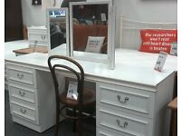 Lovely white dressing table - British Heart Foundation