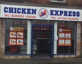 Takeaway lease Chicken Express Claycross