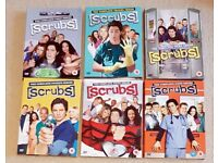 Scrubs box sets - six seasons, in perfect condition!