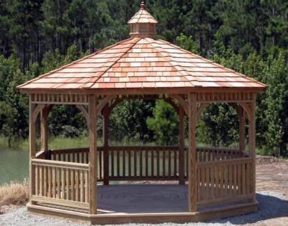 Bali Huts, Gazebos and timber decking DIY or Installed