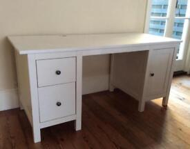 Ikea Hemnes White Desk