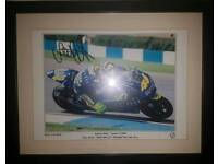 Valentino Rossi limited Edition Photograph