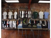 Clothes Racking Retail Display Industrial custom rails and fixings