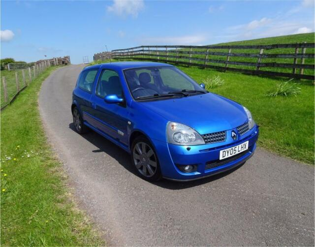 Renault Clio sport 182 2 0 16V 2005 Stunning ARCTIC Blue CAMBELT + DEPHASER  DONE | in Whitehaven, Cumbria | Gumtree