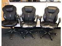 3 x Office Chairs - Free to a good home.