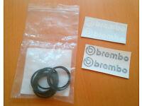Fiat/Alfa/Peugeot Brembo Caliper Seals & Brembo Decals