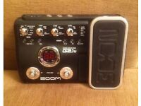 ZOOM G2.1U Guitar Multi Effects with mains adapter