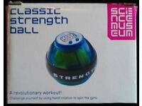 Science Museum 'Classic Strength Ball' With Digital Counter (new)