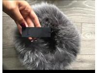 Brand new harrods fur hat